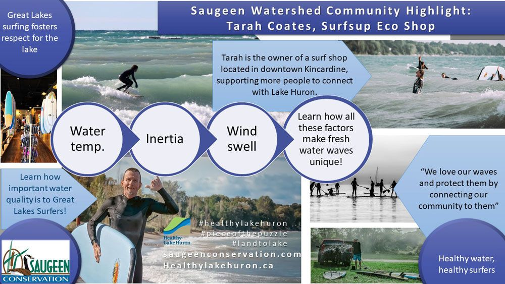 Help keep Lake Huron safe for surfers and everyone else who relies on the lake for drinking water, habitat for fish and aquatic species, and for recreation.